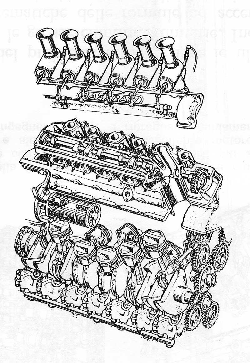 motore 12cil Maserati